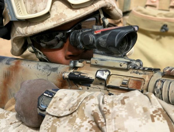 The Marines - Eagle Eye: Welcome to Sniper Training