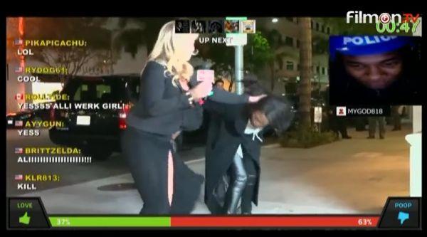 Ali VS Guest on Battlecam.com [FULL SCREEN] FOTV FilmOn.com