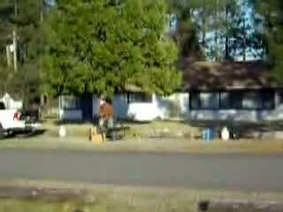 Jet bicycle video