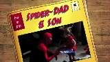 Spider-Dad and Son- A Trip to the Trampoline Park