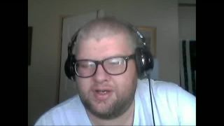 Chris_Bama Drunk and Cuts his Face with a Razor on Battlecam.com