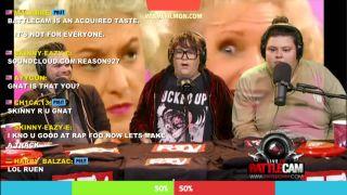Battlecam Live with hosts  Elijah Daniel,  Christine Sydelko & Andy Milonakis