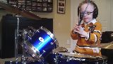 JAXON SMITH FOO FIGHTERS Pretender 6 yr old self taught drummer