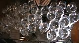 Harry Potter theme played on glass harp