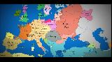 Map of Europe  1000 AD to present day