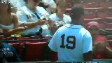 Baseball Player makes a Kid Cry, in a Good Way