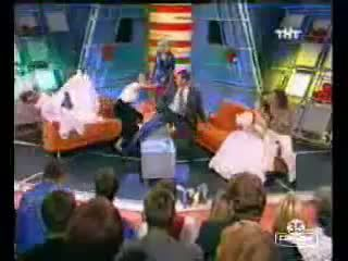 Strange Fight During A Live TV Show