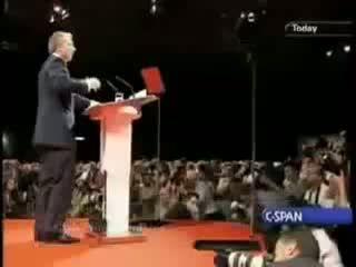 Tony Blair sings The Clash