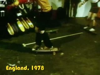 Old School 70s Skateboard Tricks