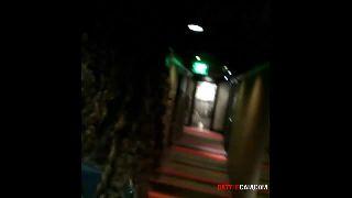 BTF - Runs Down the Hotels Hallway Knocking on Every ones Door