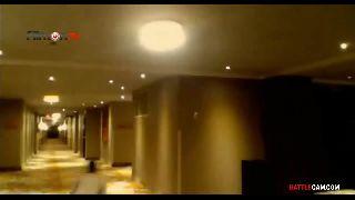 Joe and Ruen - Fooling Around in the Hotel's Hallway