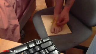 Mr. Eyelidz - Hammers a Nail Through His Foot and then Puts Hot Sauce on it