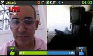 Alki David Challenges Mr.Jones257 To Taze His Kneecap On Battlecam.com