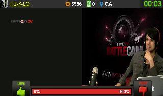 Joe Does A Harry ImpressionTalking To Coco On Battlecam.com
