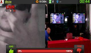 Joe Takes Down Justin On Battlecam.com