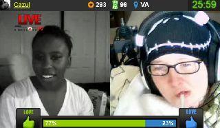 Cazul Shows Nips For Crips For Erin On Battlecam.com