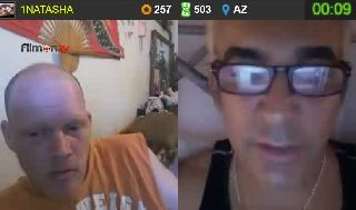 Alki and Sue have a serious conversation on Battlecam.com