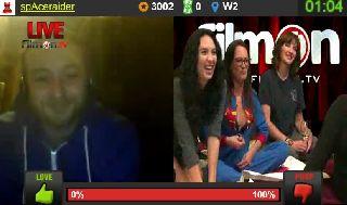 Sam Phillips Pajama Party LIVE on Battlecam.com  10-25 - 6