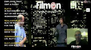 Joe Wisdom Cavacho and Alki David Part ll on Battlecam.com