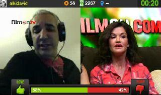 Janice Dickinson Daggering Cavacho on Battlecam.com