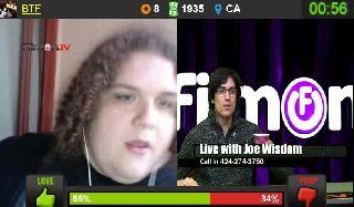 The Joe Wisdom Show on Battlecam.com 11-02