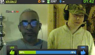Alki talking to Ozric on Battlecam.com