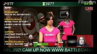 Joe Wisdom gets a $250.00 haircut live on Battlecam.com
