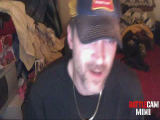 BeerGuy Staples his Nuts to his Desk.. on Battlecam.com