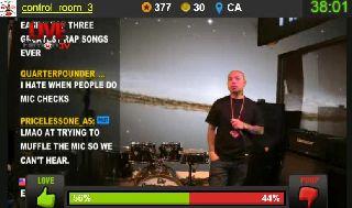 Supasang Performing LIVE On Battlecam.com