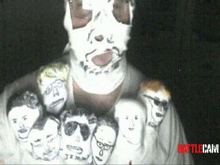 Scott777's Halloween Costume as The Puppet Man.. on Battlecam.com