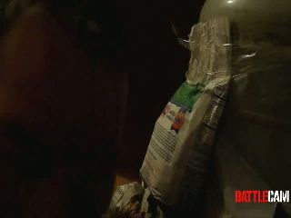 Mothman Challenged to Shoot a Propane Tank in the House.. on Battlecam.com