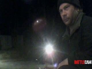 Mothman Jumps a Pit of Fire on His 4 Wheeler.. on Battlecam.com