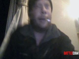 Mothman Jumps the Gasoline Container in the Fire Pit.. on Battlecam.com