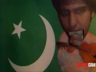 Abamski as Badsha, Singing.. Born in Pakistan.. on Battlecam.com