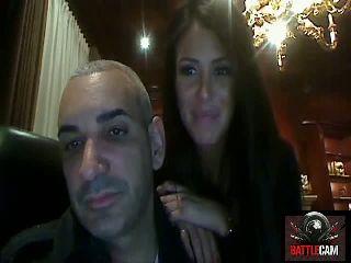 Alki & Jen Impersonate Bourbon_Drinker & Muscleman.. on Battlecam.com