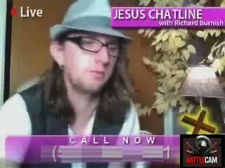 Battlecammers Call Jesus Chatline & Talk About Manginas.. on Battlecam.com