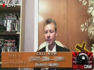 Random Caller & Klo.. Calls the Jesus Chatline.. on Battlecam.com