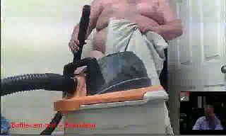 BattleCam.com - faj and his vacuum cleaner