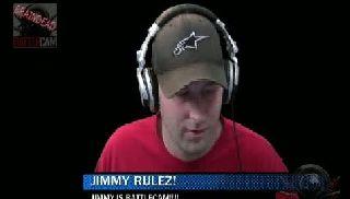 battlecam.com - Davelive is Jimmy's biggest fan.