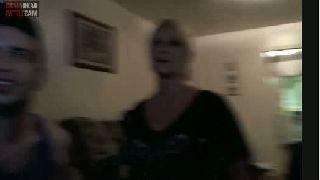 battlecam.com - Juggalo got drunken neighbors on cam