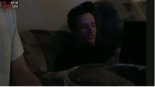 battlecam.com - Juggalokid shaving chris his eyebrown while he is sleeping