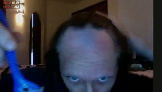 battlecam.com - RealPedorama shaving parts of his head