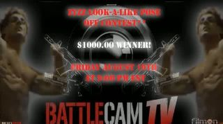 Battlecam.com - ZYZZ Look-A-Like-Pose Contest