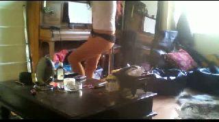 Battlecam.com - Lyzzie pole dancing