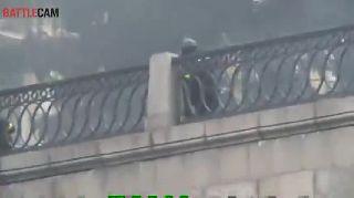 Armed Police Target Kiev Protesters