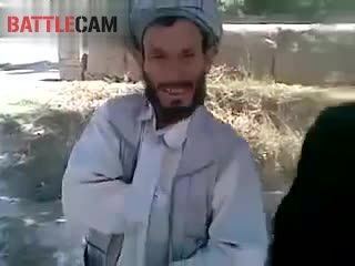 Taliban Celebrating the retreat of the US Army.
