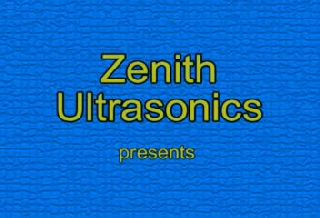 Zenith VORTEX Centrifugal Ultrasonic Cleaner