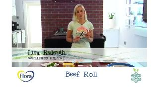 Fast Flora Sandwiches with Lisa Raleigh - Beef Roll