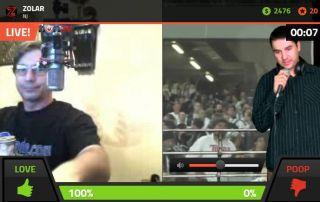 Ludog310 vs CrazyBoy13 on Battlecam.com  18+ UNCENSORED