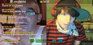 Alki David Challenges JoJo Bean To Slap Skunk5 on Battlecam.com